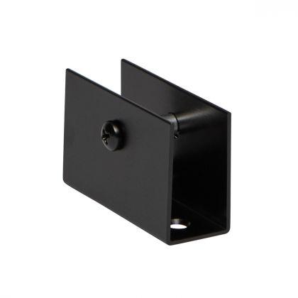 Square U-bracket (18-21mm)   Matte Black