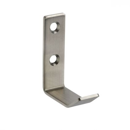 Stainless Steel Coat Hook with No Buffer | Commercial Washrooms