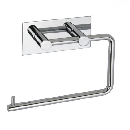 3M Adhesive Toilet Roll Holder | Polished Chrome | Commercial Washrooms