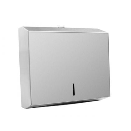 Stainless Steel Paper Towel Dispenser   Commercial Washrooms