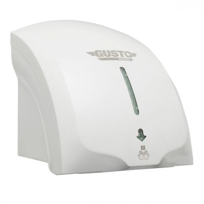 Gusto White Electric Hand Dryer | Commercial Washrooms