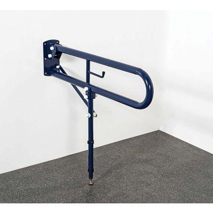 Trombone Lift And Lock Steel Hinged Rail With Leg 550mm