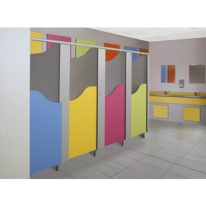 Tutti Frutti Children's Toilet Cubicles - SGL