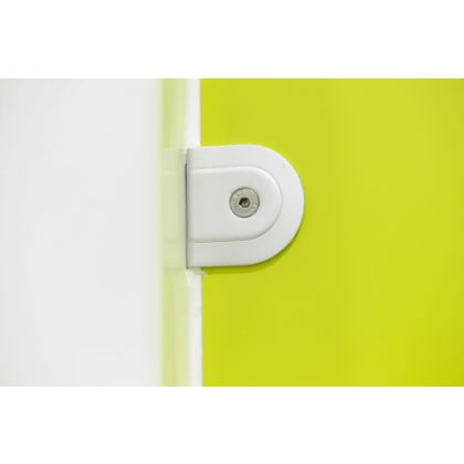 Ultra Cubicle Satin Anodized Aluminium Wall Bracket