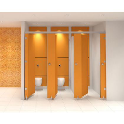 Ultra Plus SGL Toilet Cubicles With Stainless Steel Hardware (High Abuse Range) - Door Assembly
