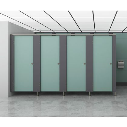 Ultra Plus SGL Toilet Cubicles With Stainless Steel Hardware (High Abuse Range)