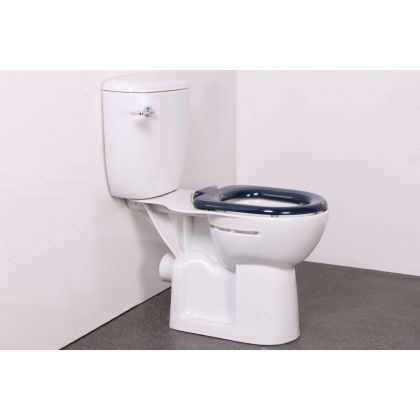 NYMAS Close coupled Doc M Ware Set with Toilet Seat - Close Options Available