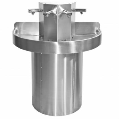 Franke Semi-Circular Stainless Steel Wash Trough