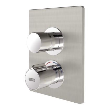 Franke F5S-Therm Self-Closing Thermostatic Shower Mixer Valve