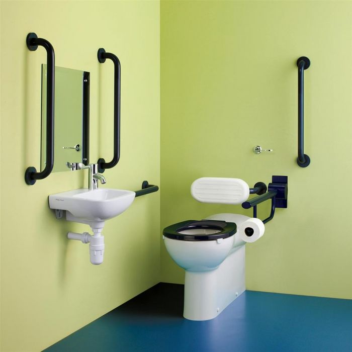 Armitage Shanks Doc M Back to Wall Toilet Pack (Choice of Colours)