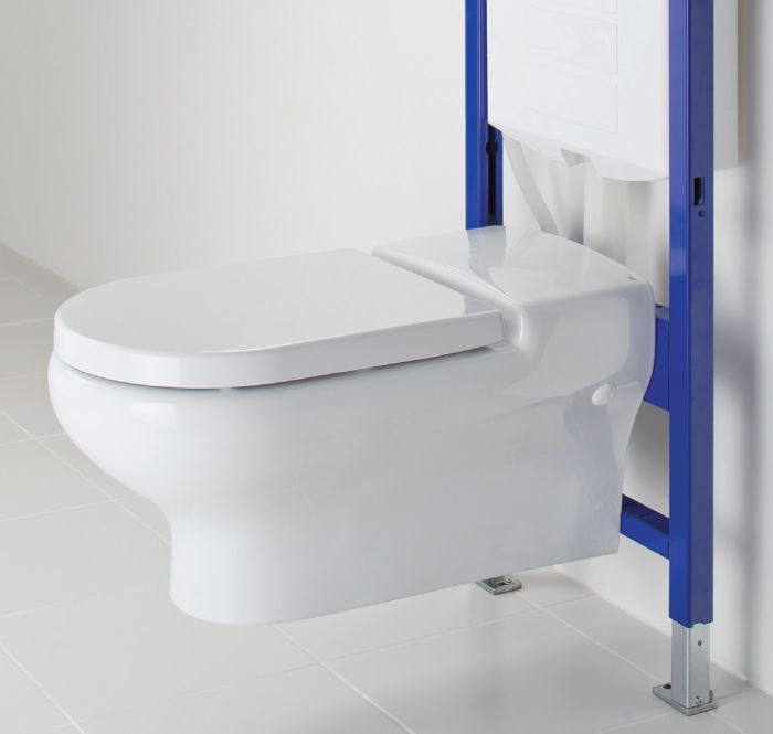 Cistern Schwab by Fluidmaster Short Concealed Wall Hung Toilet Mounting Frame