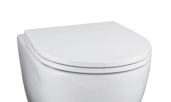 Ideal Standard Toilet.Ideal Standard White Standard Close Toilet Seat And Cover