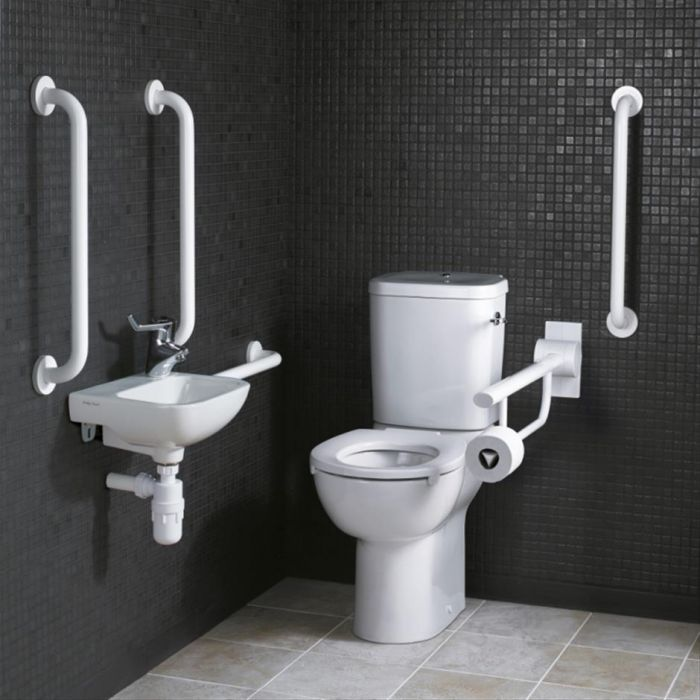 DISCONTINUED - Ideal Standard Doc M Close Coupled Left or Right Handed  Toilet Pack
