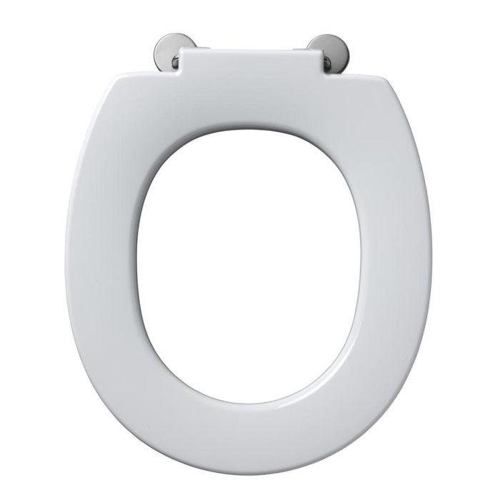 Astonishing White Armitage Shanks Contour 21 Toilet Seat No Cover Machost Co Dining Chair Design Ideas Machostcouk