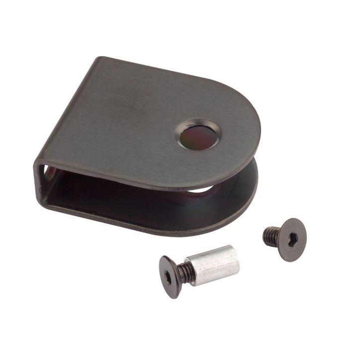 Black - U-Bracket - Stainless Steel (Various Sizes)
