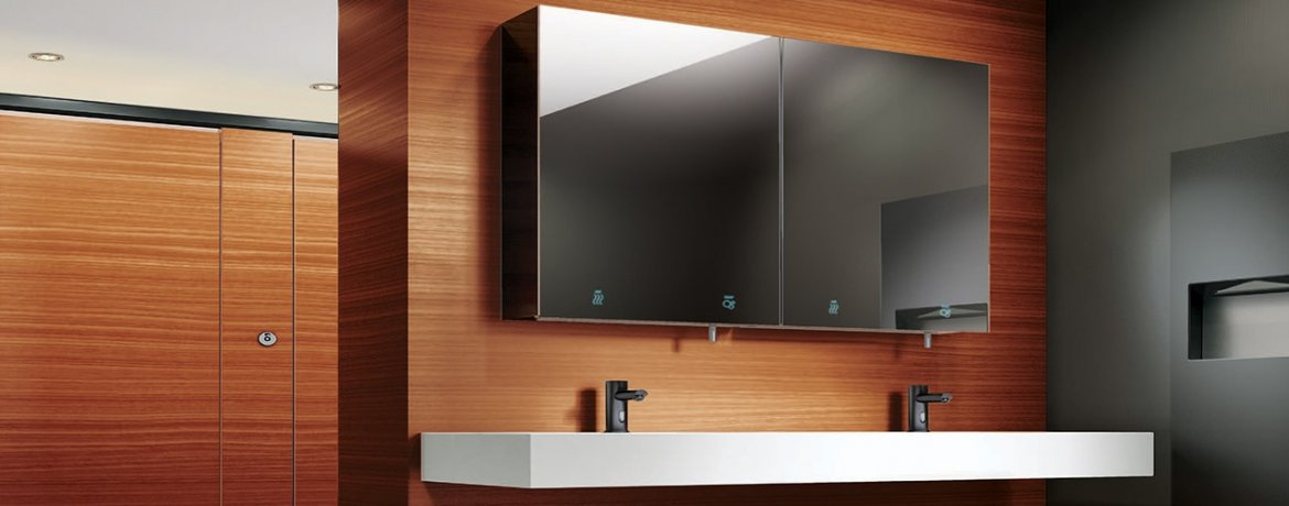 ASI Velare : The Integrated Mirror and Dispenser System