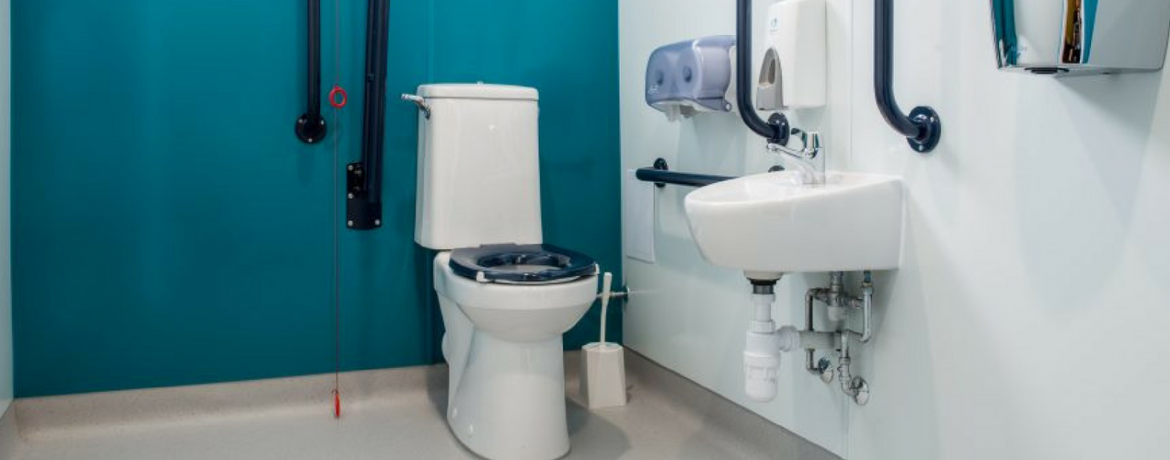 Ideal Disabled Toilet Dimensions | LAN Services Lrd