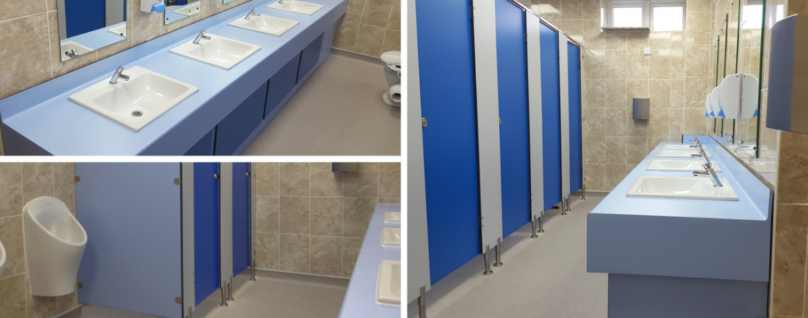 Toilet Refurbishment at Bournemouth and Poole College