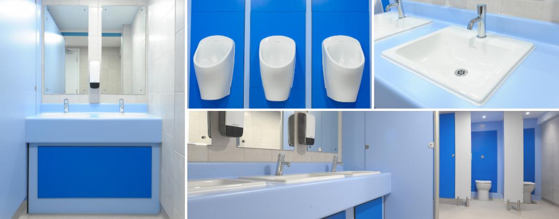 Case Study: Bournemouth & Poole College Toilets Refurbishment