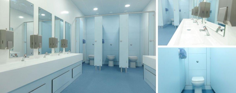Case Study: St. Clements School, Bournemouth Toilet Refurbishment