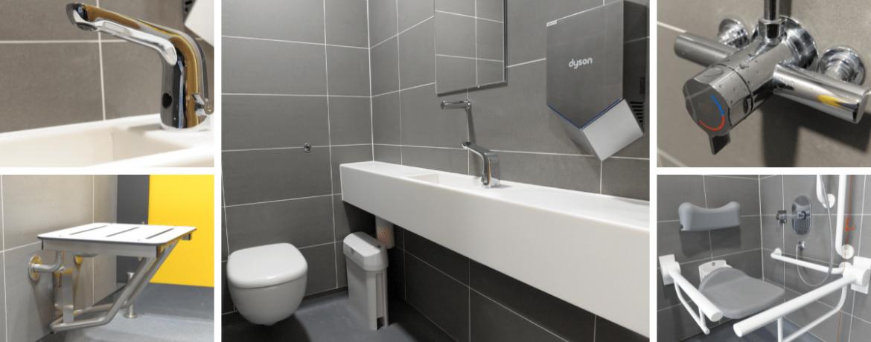 Washroom Refurbishment within a Government Laboratory Building, London Case Study