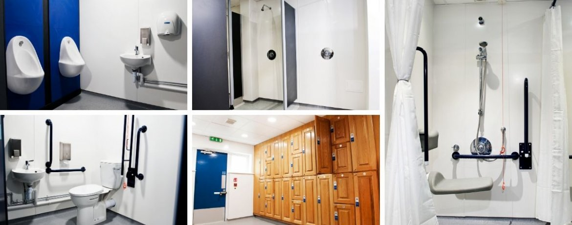 Aspire National Training Centre Changing and Shower Facilities - Case Study