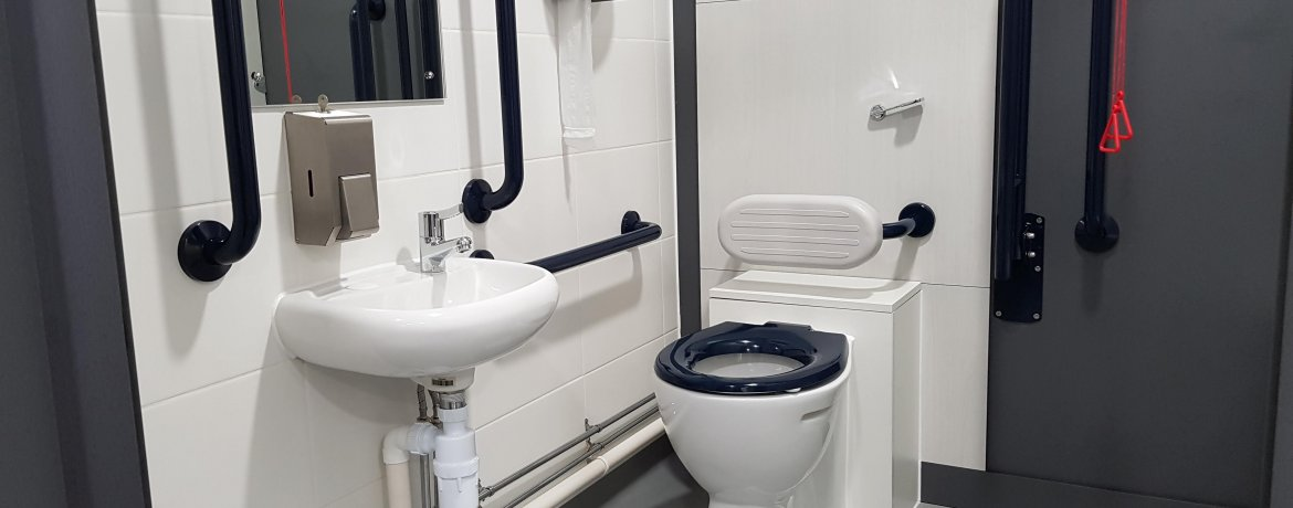 Grab Rails: Improving The Usability of Your Washroom