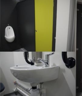 Community Centre Washroom Refurbishment for the Key Centre at Elvetham Heath