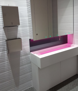 London Office Washroom Refurbishment Case Study