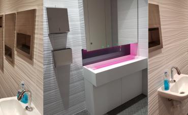 London Office Washroom Refurbishment Case Study