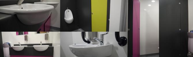 Community Centre Washroom Refurbishment for the Key Centre at Elvetham Heath