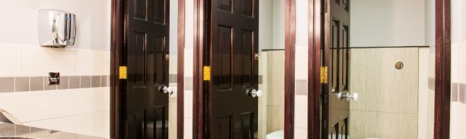 Male, Female & Disabled Toilets Refurbishment - Little Ship Club, London