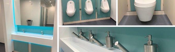 Central London Post COVID Washroom Refurbishment - Case Study
