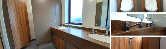 Brittany Ferries Washroom Refurbishment - Case Study