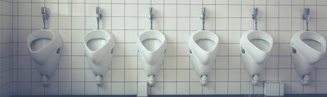 Understanding urinals and how they flush