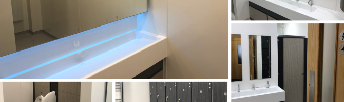 The Exeter - Shower & Changing Room Refurbishment