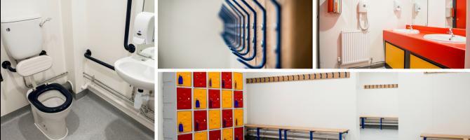 School Changing Room Refurbishment Portsmouth Grammar School
