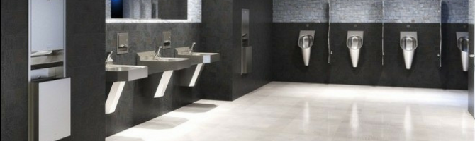 Stainless Steel Benefits, Advanced Care and Maintenance in Commercial Washrooms