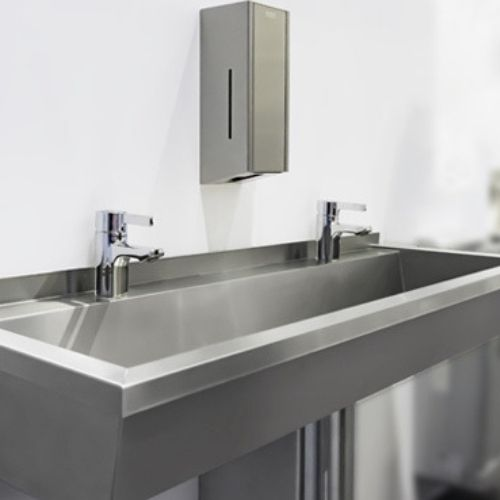 Franke | Planox Washtroughs | Commercial Washrooms