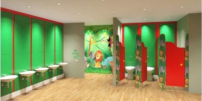 Toilet Cubicles | Children's Cubicles | Commercial Washrooms