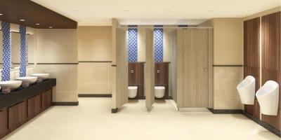 Toilet Cubicles | Modern, Sleek, Design | Commercial Washrooms