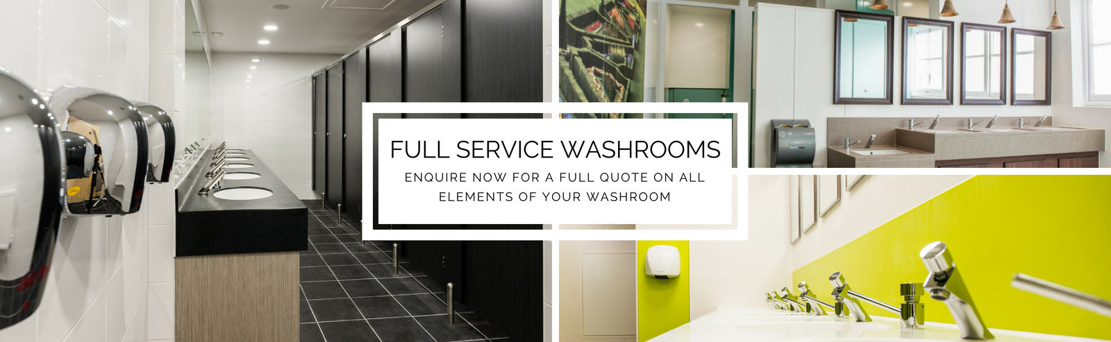 Commercial Washrooms   Enquire Today
