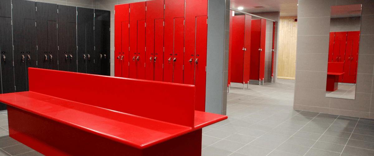 Changing Room Refurbishment   Commercial Washrooms