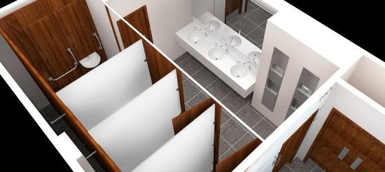 Washroom Design | Commercial Washrooms