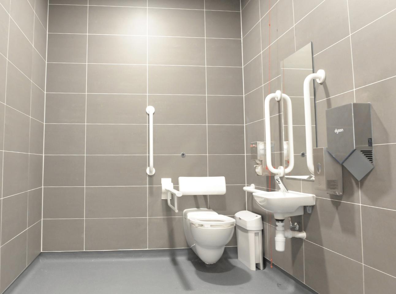 Disabled Washroom | National Physics Laboratory Case Study | Commercial Washrooms