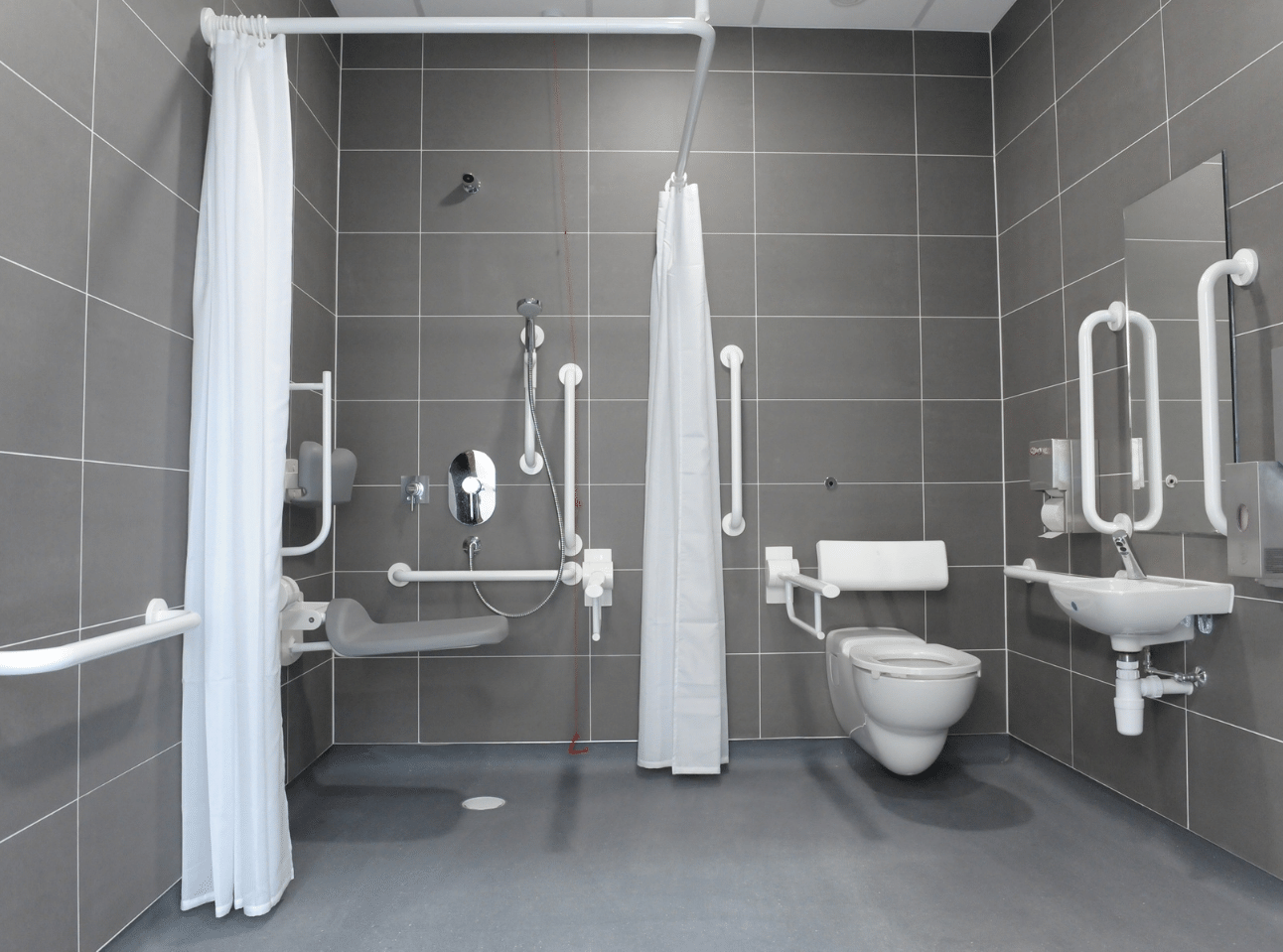 Doc-M Shower Room | National Physics Laboratory Case Study | Commercial Washrooms