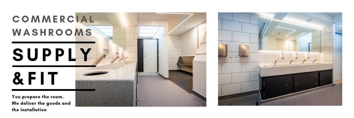 Washroom Refurbishment | Supply & Fit | Commercial Washrooms