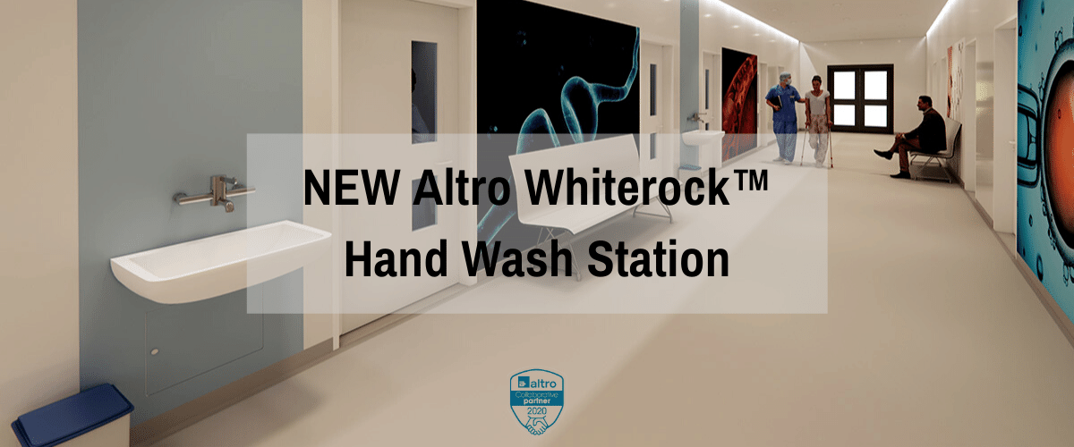 NEW Altro Whiterock™ hand wash station | Commercial Washrooms