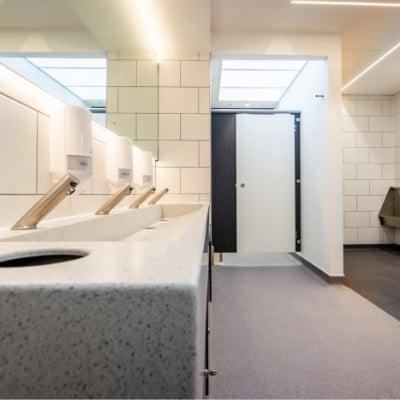 Washroom Refurbishment | Design, Strip and Fit | Commercial Washrooms