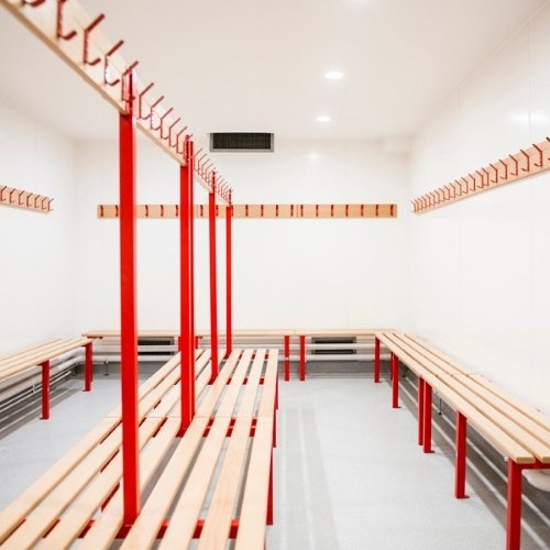 Changing Room Bench Dimensions and Sizing for Your Washrooms   Blog   Commercial Washrooms